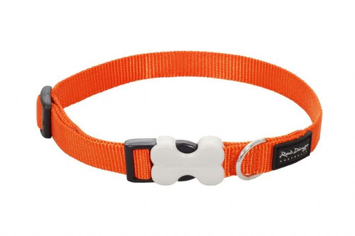 Growler Pets - Red Dingo Dog collar Classic Orange